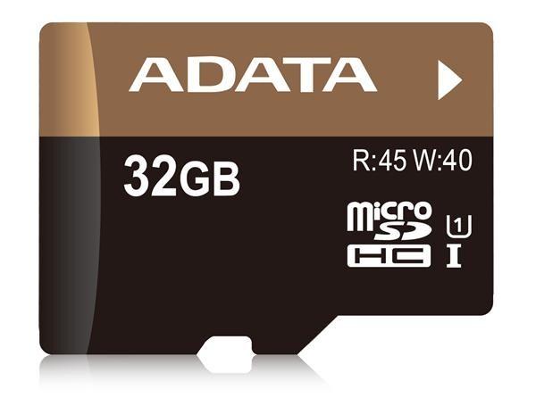 ADATA Micro SDHC karta 32GB UHS-I U1 + SD