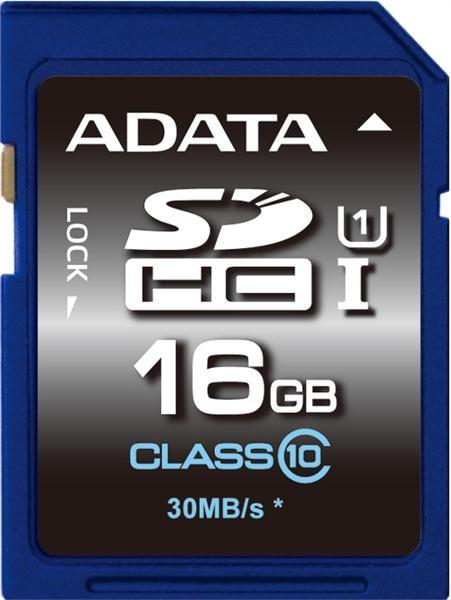 ADATA SDHC karta 16GB UHS-I Class 10 Premier
