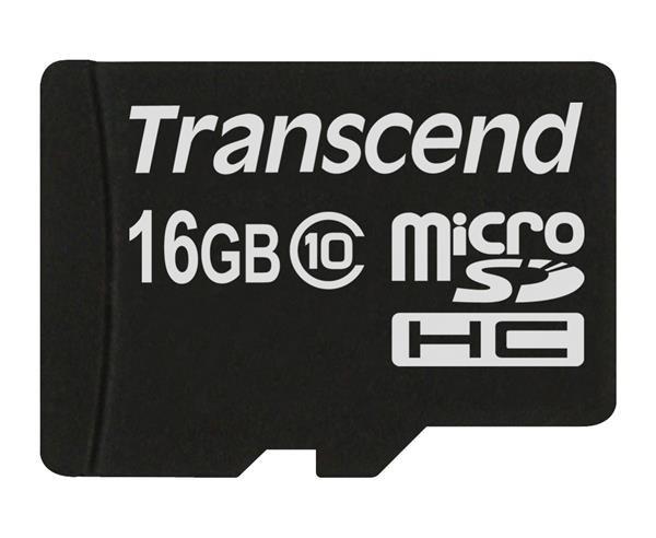 TRANSCEND Micro SDHC Class 10 32GB (bez adaptéru)