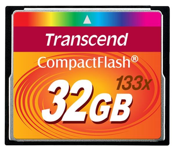 TRANSCEND Compact Flash Card (133x) 32GB