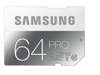 Samsung SDHC karta 64GB PRO Class 10 Plus bez adaptéru