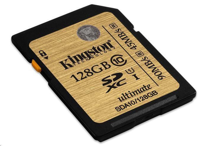 Kingston 128GB SecureDigital (SDXC) UHS-I Ultimate