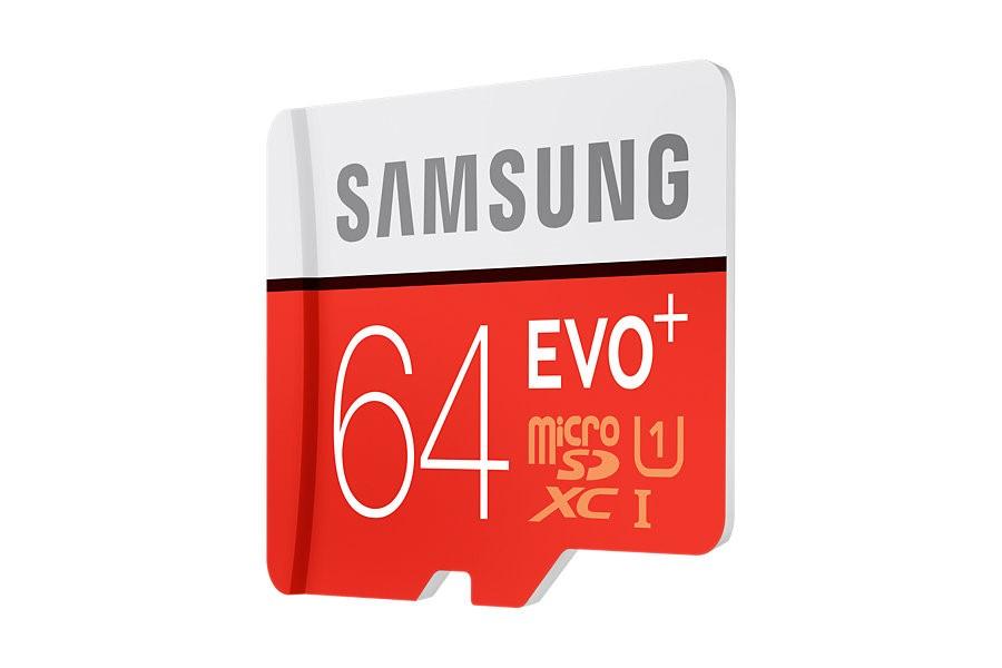 Samsung Micro SDHC karta 64GB EVO Plus (Class 10 UHS-I) + SD adaptér