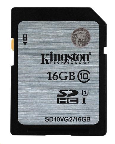 Kingston 16GB SecureDigital (SDHC)