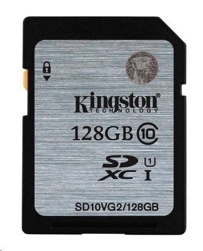 Kingston 128GB SecureDigital (SDHC)