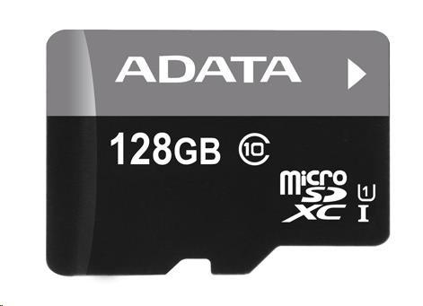 ADATA Micro SDXC karta 128GB UHS-I Class 10 + SD Premier