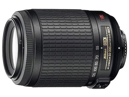 NIKON 55-200mm f4.0 -5.6G AF-S DX VR