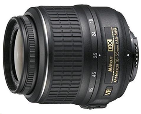 NIKON 18-55mm F3.5-5.6G AF-S DX VR