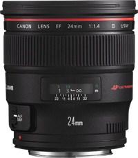 Canon EF 24mm 1.4L II U
