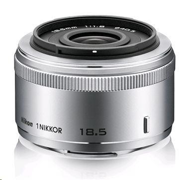 NIKON 18.5mm F1.8 1 Nikkor stříbrný