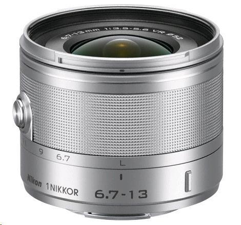 NIKON 6.7-13mm F3.5-5.6 VR 1 Nikkor stříbrný