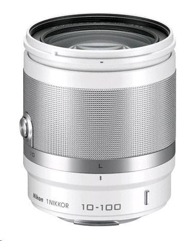 NIKON 10-100mm F4-5.6 VR 1 Nikkor bílý