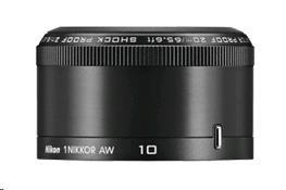 NIKON 10mm F2.8 AW 1 Nikkor černý