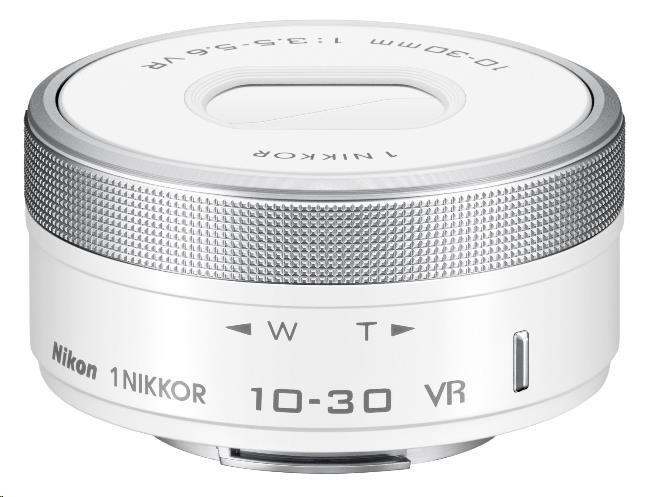 NIKON 10-30mm f/3.5-5.6 1 NIKKOR bílý