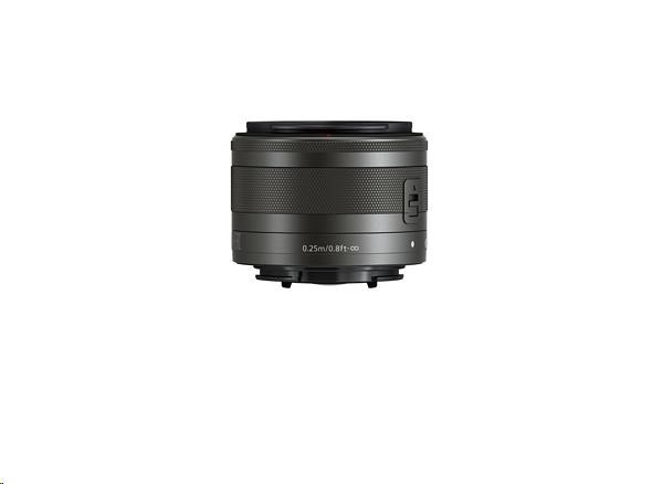 Canon EF-M 15-45mm f/3.5-6.3 IS STM Graphite