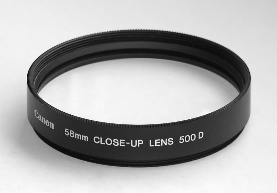 Canon 500D 58 mm