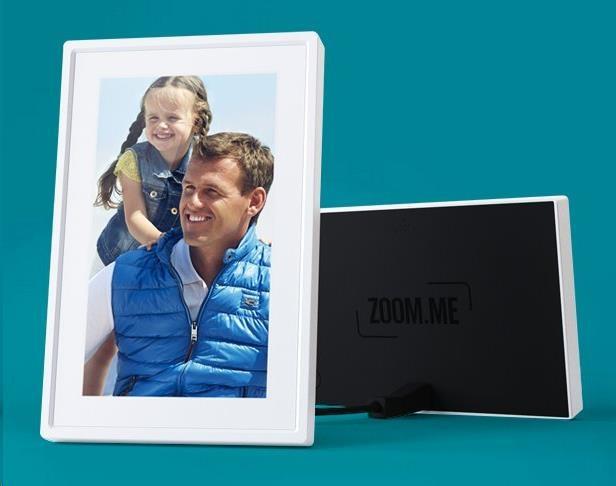 ZOOM.ME Wi-Fi, chytrý rámeček, CZ lokalizace + CZ aplikace pro zasílání fotek a zpráv, kompatibilní s Android, IOS, WIN