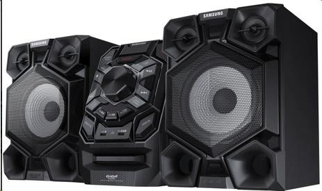 SAMSUNG MX-J730/EN Minisystém 2.0, výkon 600 W, CD/MP3/WMA TV SoundConnect, Giga Sound systém, zesilovač Crystal Plus CD