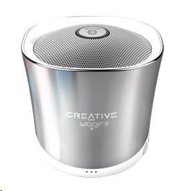 Creative WOOF3 stříbrný