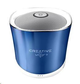 Creative WOOF3 modrý