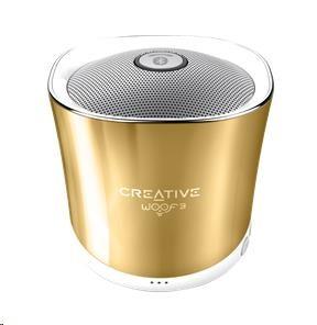 Creative WOOF3 zlatý