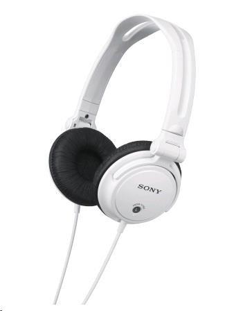 SONY stereo sluchátka MDR-V150, bílá