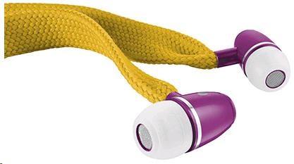 URBAN REVOLT Sluchátka Lace In-ear Headset - mustard yellow, špuntová