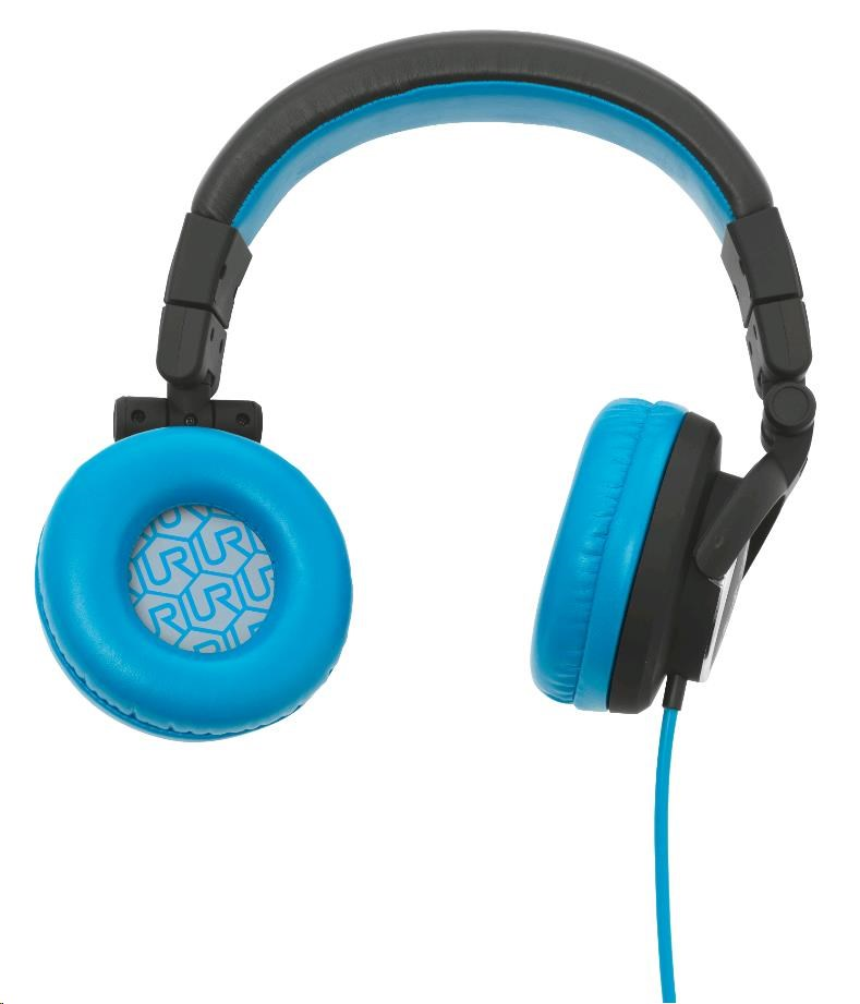 URBAN REVOLT Sluchátka Rimix Headphone - black/blue
