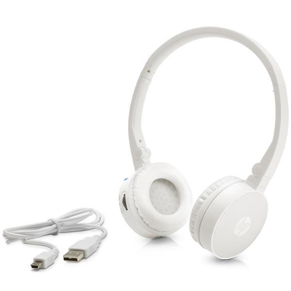 HP H7000 White BT Wireless Headset - REPRO