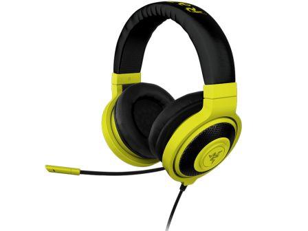 RAZER sluchátka s mikrofonem KRAKEN PRO Neon Yellow Analog Gaming Headset