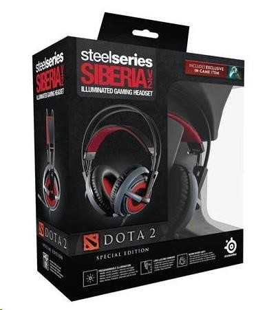 Steelseries Siberia v2 Dota2 Edition