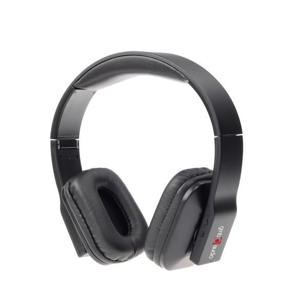 GEMBIRD sluchátka s mikrofonem OSLO, Bluetooth, skládací, černá