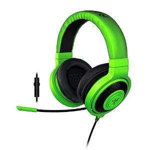 RAZER sluchátka s mikrofonem KRAKEN PRO 2015 Green Analog Gaming Headset
