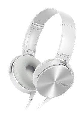 SONY MDR-XB450AP Extra Bass bílé