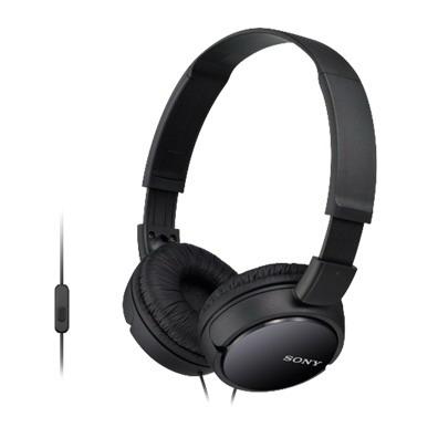 SONY stereo sluchátka MDR-ZX110AP, černá