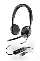 PLANTRONICS náhlavní souprava na obě uši se sponou - Microsoft (BLACKWIRE C520-M)