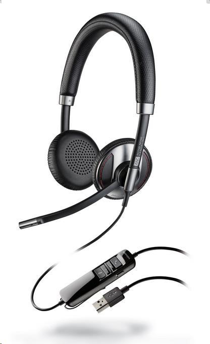 PLANTRONICS náhlavní souprava na obě uši se sponou - Microsoft (BLACKWIRE C725-M)