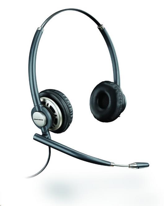 PLANTRONICS EncorePro náhlavní soupava na obě uši se sponou (HW720)
