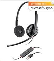 PLANTRONICS náhlavní souprava na obě uši se sponou - Microsoft (BLACKWIRE C720-M)