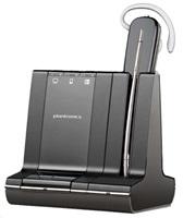 PLANTRONICS bezdrát. náhlav. souprava na jedno ucho s háčkem nebo sponou - Microsoft (W740/A-M Savi)