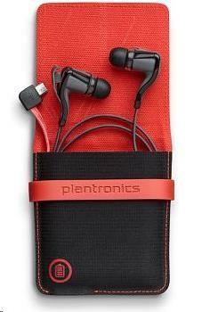PLANTRONICS stereo Bluetooth Headset Backbeat GO 2 s nabíjecím obalem, černá