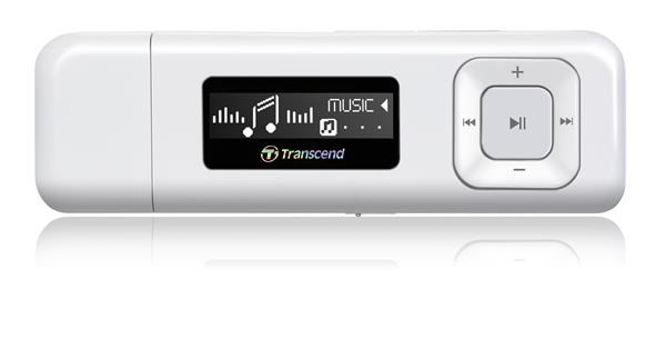 Transcend MP330 bílý