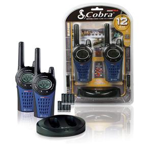 COBRA vysílačky PMR - 2ks + NiMH ACU 8x + nabíječka - COBRA-MT975C