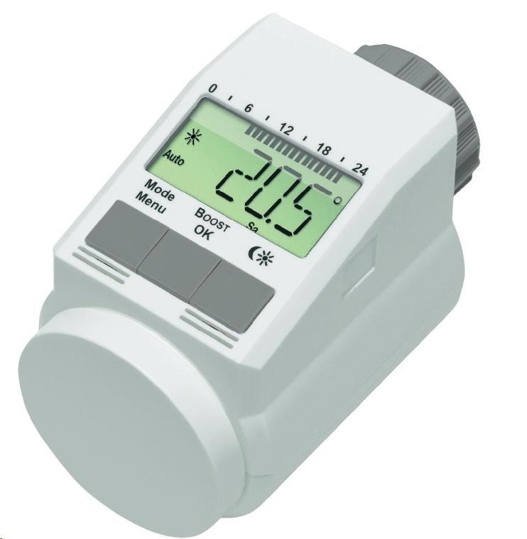 CONRAD Programovatelná termostatická hlavice eQ-3 L, 5 - 29,5 °C