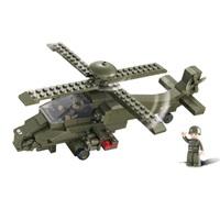 VÝPRODEJ - Sluban stavebnice útočná helikoptéra - M38-B0298