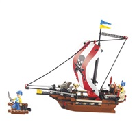 VÝPRODEJ - Sluban stavebnice pirátská loď - M38-B0279