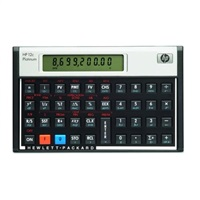 HP 12c Platinum Financial Calculator - calc