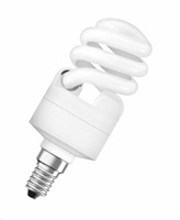 "OSRAM Úsporná zářivka DULUXSTAR MINITWIST ""kroucené"" DST MTW 12W, E14, 827 (teplá bílá)"
