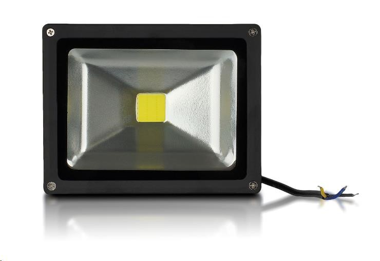Whitenergy reflektor LED 20W, 6000K, 2000lm, IP65