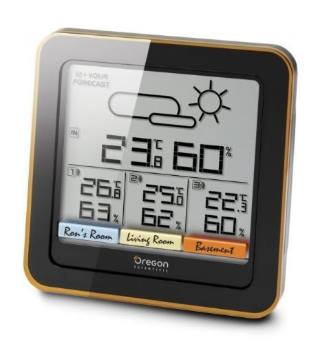 Oregon RAR502 - meteorologická stanice Scientific + 3 venkovní senzory